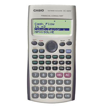 Casio FC-100V calculator
